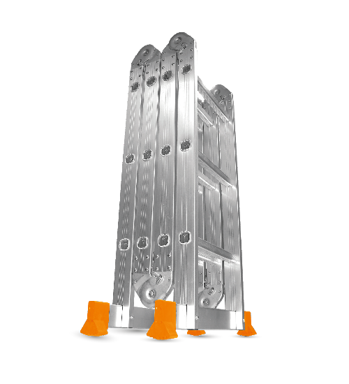 Escalera plegable Alum 4x4 4,70m