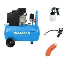 Compresor GAMMA 2HP- 50L+KIT ACC
