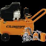 Compresor Lusqtoff2.5HP - 50L + Kit 5 Piezas