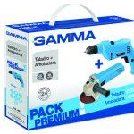 Pack Premium Gamma – Amoladora 750W + Taladro 650W 1