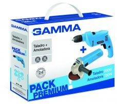 Pack Premium Gamma - Amoladora 750W + Taladro 650W