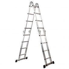 Escalera Aluminio Multifunción 4x4