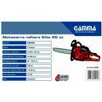 Motosierra GAMMA ELITE 20″ – 2,7HP – 50cc 2
